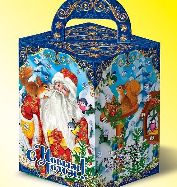 Дед Мороз и Снегурочка с сумочкой