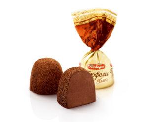Трюфели с какао купол
