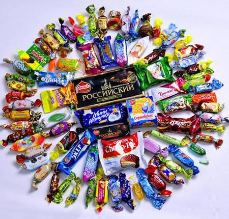 Состав детских Новогодних подарков СладКо конфеты 22