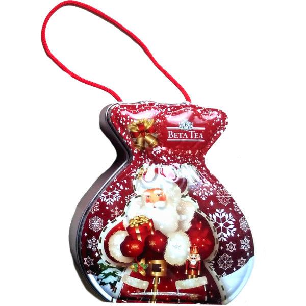 Мешок с подарками красный